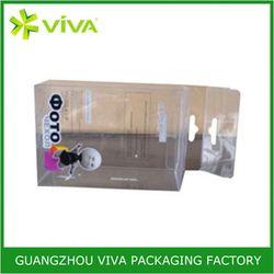 High quality new design clear plastic pencil box