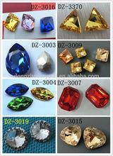 wholesale crystal chaton element point back fake gemstone