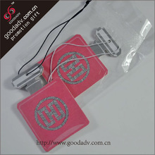 2014 GD factory new arrival perfume bottle shaped funny car air freshener