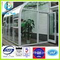 2014 Hot sale janela toldo ao ar livre moderna toldos da janela de alumínio pérgola