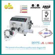 JSBX-9 Digital fukuda denshi ecg cable wire cutting stripping twisting machine