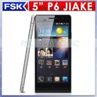 alibaba china Star Ulefone cell phone MTK6582 quad core 6inch android 1GB RAM +8GB ROM 3G Star Ulefone P6 phone