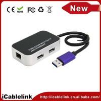 High speed USB 3.0 to 10/100/1000 Gigabit RJ45 Ethernet LAN Network Adapter, usb to lan port adapter for laptop /Windows /MAC