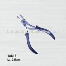 professional Rubber and plastic Nail Nipper,Cuticle Nipper
