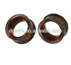 Organic brown soon wood ear pugs piercing