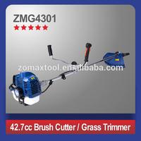 Heavy duty bike handle type gasoline grass trimmer / brushcutter / grass cutter machine price