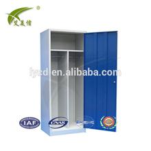 Unique design single door two tiers metal locker steel cupboard