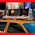 Venda quente ao ar livre 3g/sem fio wifi ônibus/carro/caminhão telhado de táxi led superior sinal de propaganda