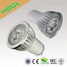 AC 110V 220V 1w 3w 4w 5w 7w ip44 warranty 3 years ip44 CE ROHS led gu10 dimmable bulb lamp