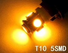 error free t10 canbus w5w 194 5050 smd 5 led white light bulbs
