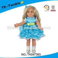 TK047383 kid toy 18 inch Amerian style baby dolls