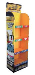 Advertising Cardboard Floor Display,Cardboard Display Shelf,Corrugated Cardboard Display Stand