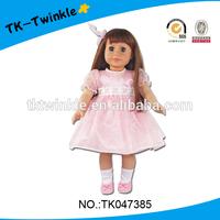 TK047385 kid toy 18 inch Amerian style baby dolls