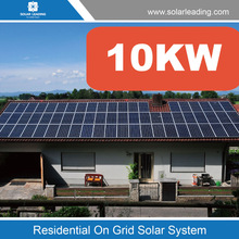 One stop solution 10kw solar energy system price include mono solar panel also with grid tie inverter with MPPT home used