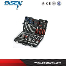 128pcs 1/2''&1/4'' Socket & Tool Set /king tools