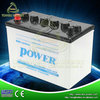 12V 80AH Dry Charged Lead Acid tractor battery 58024 JIS