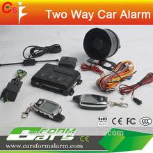 excalibur electronics two way anti-theft genius car alarm/anti police radar detector