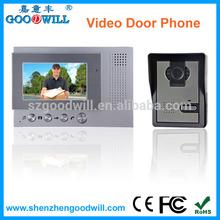HOT Selling fashion style easy operation 32 doorbell ringtones nice talking intercom video door phone