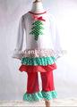 alla moda abiti di carnevale per bambine con simpatici albero e arruffato tre layeres bambini vestiti per bambine manica lunga santa