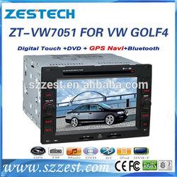 ZESTECH double din car radio for volkswagen golf 4 car gps navigation multimediay system