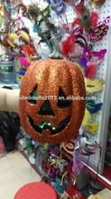 Wholesale artificial EPS foam halloween pumpkin LED light decorations