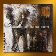 Hot Sell Handmade Oil Painting Of Ganesha