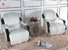 2014 Latest Euro style leather modern single sofa chair