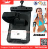 PVC cell phone arm bag, waterproof cell phone bag, waterproof plastic bag