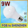 Holiday Good price 9w 220v e27 e27 led light bulb