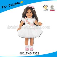 TK047382 kid toy 18 inch vinyl Amerian style baby dolls