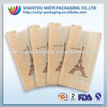 printed brown sandwich bag,paper sandwich bag,kraft paper sandwich bag