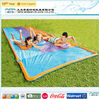 Park inflatable plastic inflatable water park slides for sale
