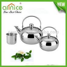 Middle East Styple stainless steel teapot samovar with infuser / arabic tea pot