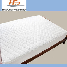 Top quality 100% cotton quilted mattress pad manufacturers-twin/full/queen/king