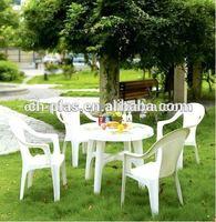 Garden plastic furniture