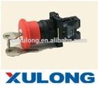 XB2 ES145 key reset emergency stop pushbutton head 40mm N/C N/O push button switch