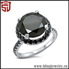 High Quality Top Sell 925 Silver Ring With Yellow Stone