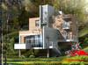Chinese Prefab House of classic 3 storeys villa design
