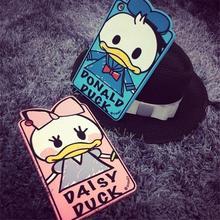 Cute Cartoon graffiti Donald Duck Lovely Silicone case for iPad Mini 1 2