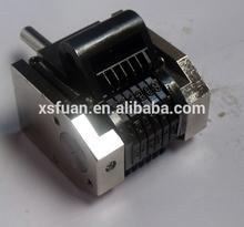 metal numbering machine printing number on metal