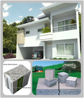 Daquan new building material - eps cement sandwich wall panel, lightweight concrete panel