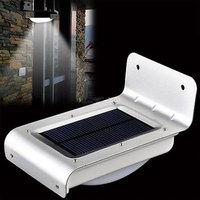 16 LED Solar Energy Power Human Body Motion Sensor Lamp Outdoor Light