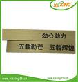 de latón de metal placa de placas de identificación de las etiquetas de nombre