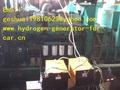 Hho del carro del coche y diesel combustible del grupo electrógeno