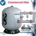 Comercial de acrílico piscina de plata nano filtro de agua con CE