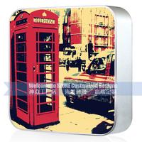 Universal External Portable Power Ban London retro style wholesale cellphone portable power bank100% true Capacity 6600mAh