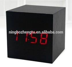 stand alarm table led digital alarm OEM ODM wooden antique clock