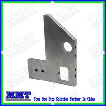 custom precision machining cnc part of 3D printer aluminium mounting plate