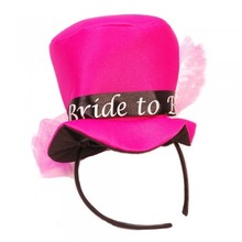 Mini Pink Bride To Be Top Hat