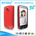 Nuevo producto mtk 6572 4 pulgadas de doble núcleo android pequeño de doble sim los teléfonos celulares
